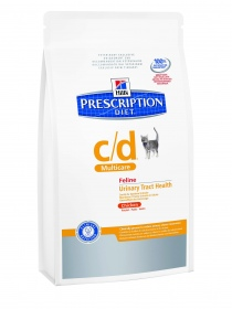 Illustration HILL'S PRESCRIPTION DIET FELINE  POULET 24 BOÎTES DE 156 G