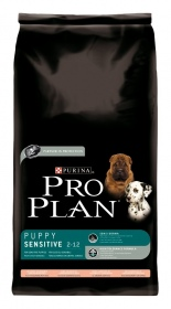 Illustration CROQUETTES PRO PLAN PUPPY SENSITIVE SAUMON ET RIZ SAC 3 KG