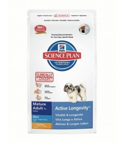 Hill's Pet Nutrition - HILL'S SCIENCE PLAN CANINE MATURE SENIOR ACTIVE LONGEVITY PETITES RACES 3 KG