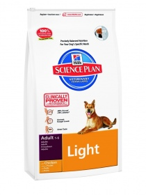 Illustration HILL'S SCIENCE PLAN CANINE ADULTE LIGHT POULET  3 KG