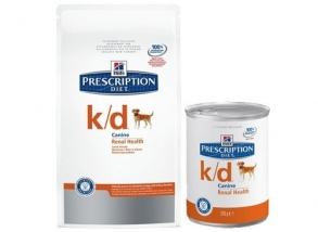Hill's Pet Nutrition - CROQUETTES HILL'S PRESCRIPTION DIET CANINE K/D 12 BOÎTES DE 370 G