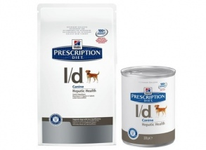 Illustration CROQUETTES HILL'S PRESCRIPTION DIET CANINE L/D 12 BOÎTES DE 370 G