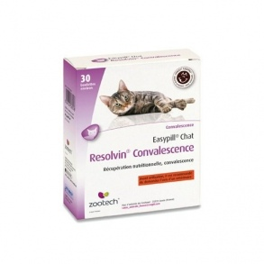 Zootech - EASYPILL RESOLVIN CONVALESCENCE POUR CHATS