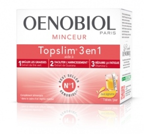 Illustration Oenobiol Topslim 3 en 1 - Goût agrumes - 14 sticks