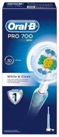 brosse dents lectrique professional care 700 white and clean de oral b sur 1001pharmacies. Black Bedroom Furniture Sets. Home Design Ideas