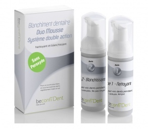 BeconfiDent - Duo Mousse Sans Peroxyde