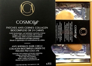 Cosmolift - PATCHES ANTI-CERNES COLLAGEN BIOCOMPLEXE OR 24 CARATS - pack de 5 paires