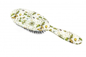 Illustration Acoms & Butterflies Grand Format - Brosse à cheveux en poils de sanglier