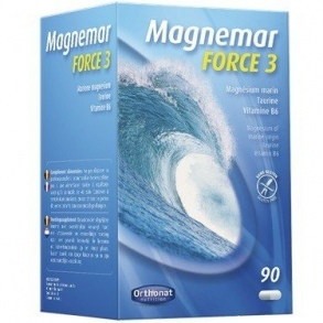 Orthonat Nutrition - MAGNEMAR FORCE 3 - 90 COMPRIMES