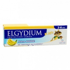 Elgydium - DENTIFRICE PROTECTION CARIES KIDS 50 ML ARÔME BANANE