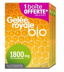 Illustration NUTRISANTE GELEE ROYALE BIO 1800MG AMPOULE 30