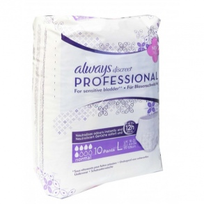 Always - Always discreet Professional Taille L Paquet de 10 protections