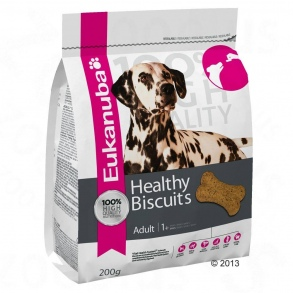 Illustration Biscuits eukanuba healthy extra adulte sachet 200g