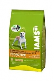 Iams  - Croquettes iams adulte light sac 12kg