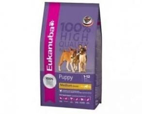 Illustration croquettes eukanuba junior grandes races 9kg