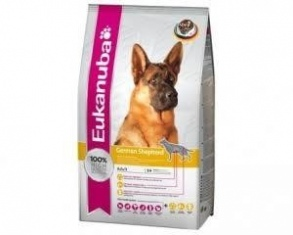 Illustration croquettes eukanuba adulte berger allemand 12 kg