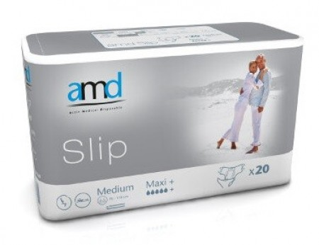 Illustration amd slip change complet medium maxi+ 20 absorption 3600ml