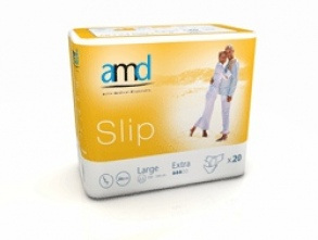 Illustration AMD SLIP CHANGE COMPLET MEDIUM SUPER 20 * 4 absorption 2600ml