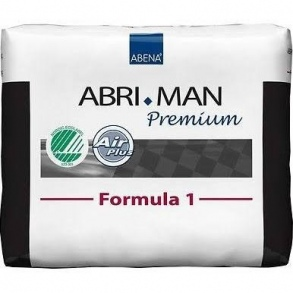 Illustration Abena Abri-Man Formula 1