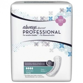 Always - Always discreet Professional Serviettes Small plus Paquet de 16