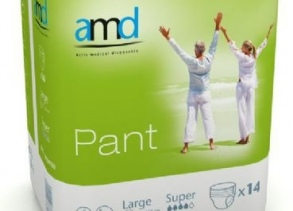 Illustration AMD PANT SOUS VETEMENT ABSORBANT LARGE SUPER 14 * 6 absorption 1800ml