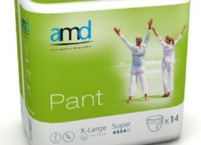Illustration AMD PANT SOUS VETEMENT ABSORBANT XLARGE SUPER 14 * 6 absorption 1800ml