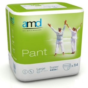 Illustration AMD PANT SOUS VETEMENT MAXI MEDIUM 14 * 6 absorption 2150ml