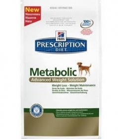 Illustration croquettes hill's prescription diet canine metabolic sac 1,5 kg
