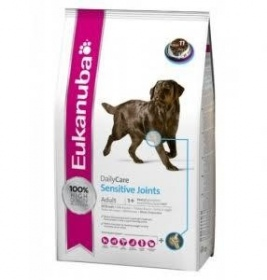 Illustration croquettes eukanuba adulte daily care articulations sensibles sac 12,5 kg