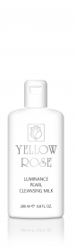 Yellow Rose - lait demaquillant aux extraits de perles luminance - 200 ml