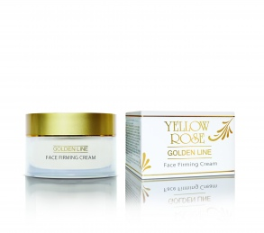 Yellow Rose - creme anti rides raffermissante visage ligne d'or - 50 ml