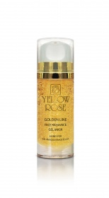 Yellow Rose - gel masque visage eclat ligne d'or - 100 ml