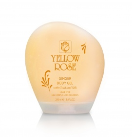 Yellow Rose - gel extraordinaire corps or et soie - 250 ml