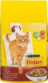 Illustration Friskies Chat Croquettes Boeuf  7,5 kg