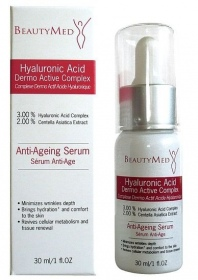 BeautyMed - Complexe Dermo Actif Acide Hyaluronique 30ml