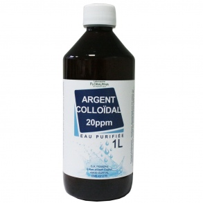 Illustration Argent colloïdal (1L)