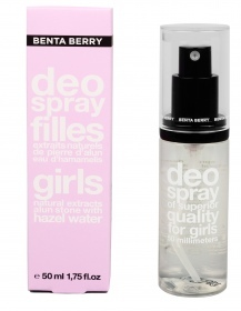 Benta Berry - Déodorant Spray Filles