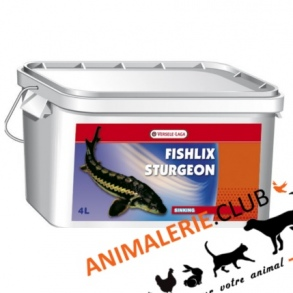 Illustration Nourriture Fishlix Sturgeon Esturgeon 4Litres