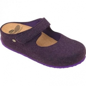 Illustration scholl artesia violet - taille 38