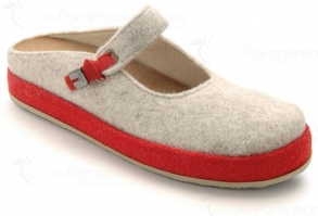 Illustration SCHOLL IKIKE BEIGE ROUGE 38
