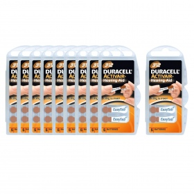 Duracell - Piles Auditives DURACELL Activair 312 - 10 plaquettes