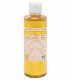 Dr. Bronner's Magic - Citrus Orange Castile Liquid Soaps - 236 ml
