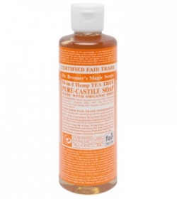 Dr. Bronner's Magic - Tea Tree Castille savon liquide - 236 ml