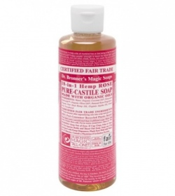 Dr. Bronner's Magic - Rose Castille savon liquide - 473 ml