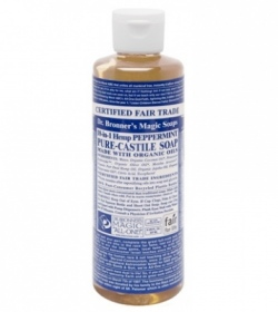 Dr. Bronner's Magic - Peppermint Castille savon liquide - 473 ml