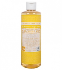 Illustration Citrus Orange Castile Liquid Soaps - 944 ml