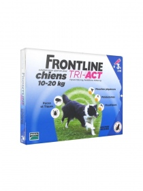 Frontline - Frontline Tri-Act Chiens 10-20 kg 3 Pipettes