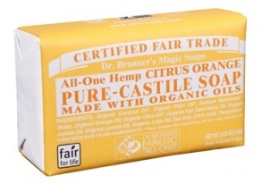 Dr. Bronner's Magic - barsoaps citrus-orange - 140 g