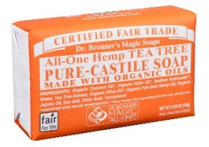 Dr. Bronner's Magic - barsoaps tea three - 140 g