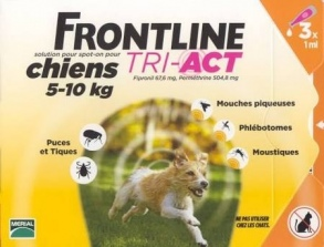 Frontline - Frontline Tri-Act S 5-10kg 3 pipettes
